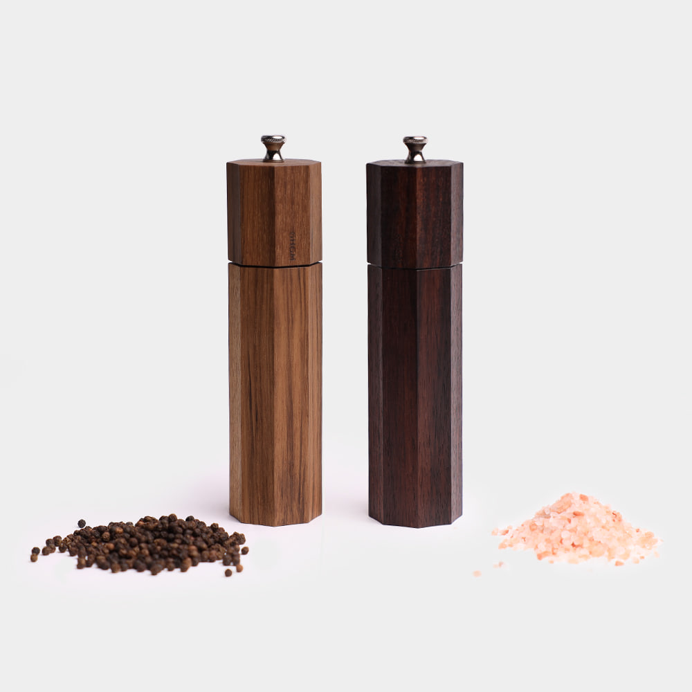 8 ANGLES SALT & PEPPER MILL